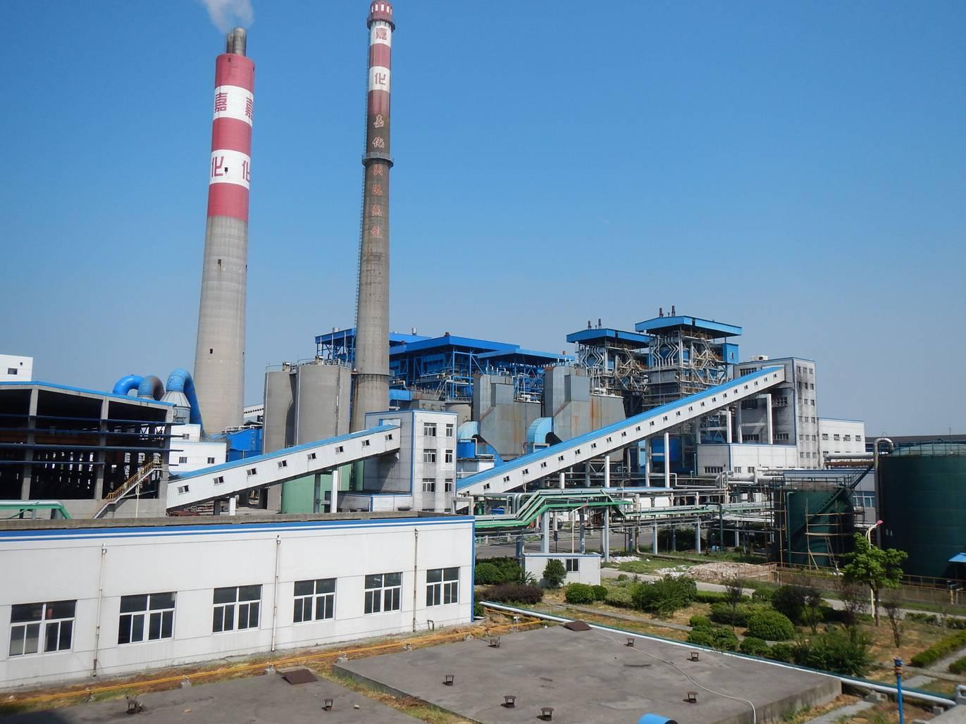 浙江嘉化兴港热电厂一、二、三期热电工程